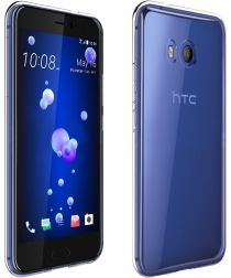HTC U11 Transparant Hoesje TPU Clear Case