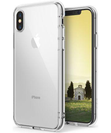 Ringke Fusion iPhone X Hoesje Doorzichtig Crystal View