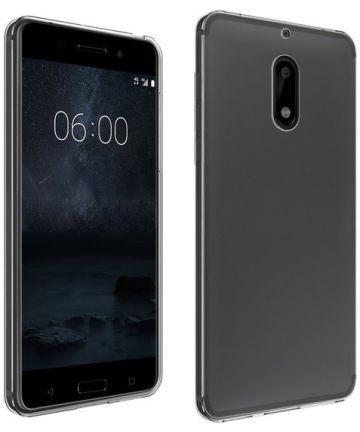 Nokia 6 Transparant Hoesje Hoesjes