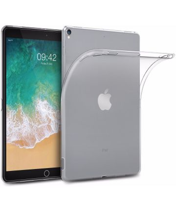 Apple iPad Air 2019 / iPad Pro 10.5 (2017) Transparante TPU Hoes Hoesjes