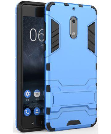 Hybride Nokia 6 Hoesje Blauw