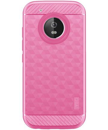 Motorola Moto G5 Plus Siliconen Hoesje Roze