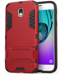 Hybride Samsung Galaxy J5 (2017) Hoesje Rood