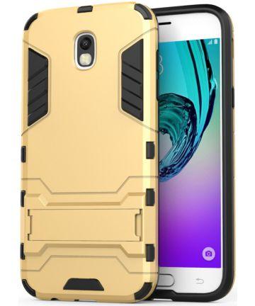 Samsung Galaxy J5 (2017) Hybride Hoesje Gold