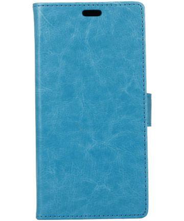 Motorola Moto G5S Portemonnee Hoesje Blauw