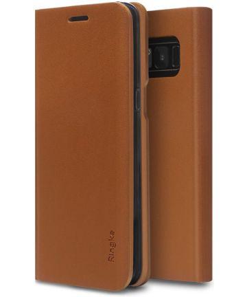 Ringke Wallet Fit Samsung Galaxy S8 Plus Bruin