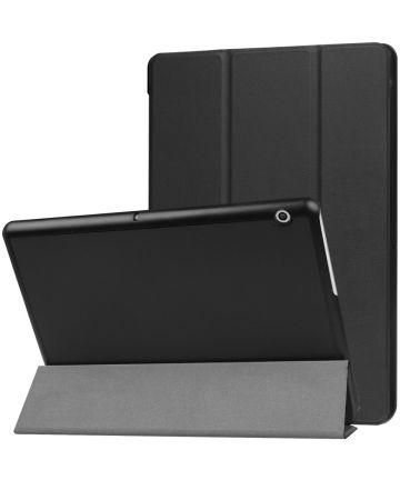 MediaPad T3 (10) Tri-Fold Front Cover Zwart Hoesjes