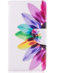 Nokia 5 Portemonnee Flip Hoesje Print Flowers