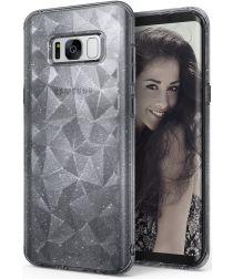 Ringke Air Prism Samsung Galaxy S8 Hoesje Grijs Glitter