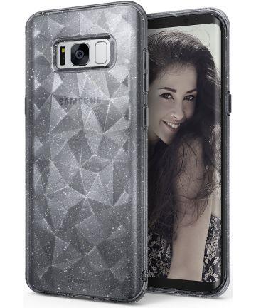 Ringke Air Prism Samsung Galaxy S8 Hoesje Grijs Glitter Hoesjes