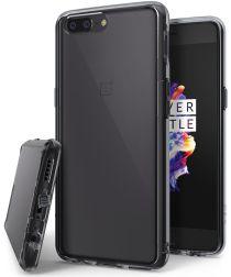 Ringke Fusion OnePlus 5 Hoesje Doorzichtig Smoke Black