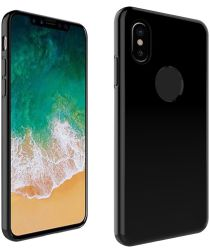Apple iPhone X TPU Case Zwart