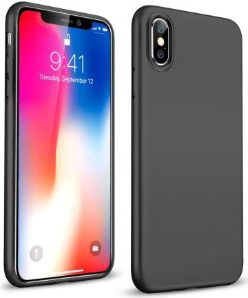 Apple iPhone X Zwart Hoesje