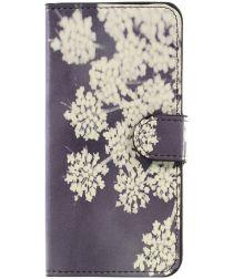 Huawei P10 Lite Portemonnee Hoesje Flower