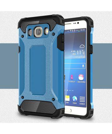 Samsung Galaxy J7 (2016) Hybride Hoesje Blauw