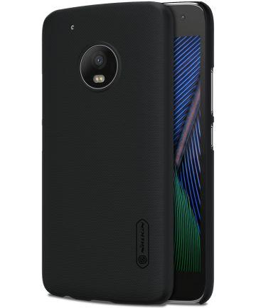 Nillkin Super Frosted Shield Case Motorola Moto G5 Plus Zwart