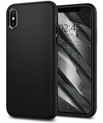 Spigen Liquid Air Apple iPhone X Hoesje Zwart