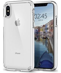 Spigen Ultra Hybrid Apple iPhone X Hoesje Transparant