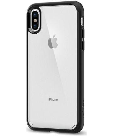 Spigen Ultra Hybrid Apple iPhone X Hoesje Zwart