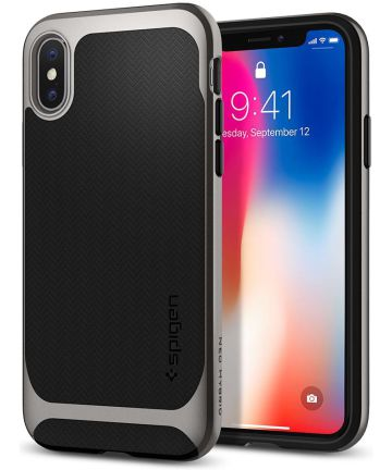 Spigen Neo Hybrid Apple iPhone X Gunmetal