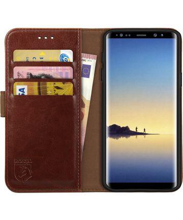 Rosso Element Samsung Galaxy Note 8 Hoesje Book Cover Bruin