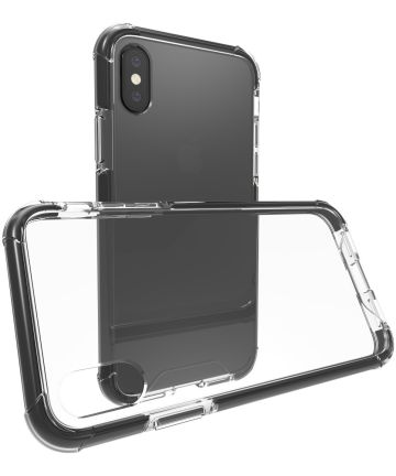 Apple iPhone X TPU Bumper Hoesje Zwart