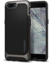Spigen Neo Hybrid Hoesje OnePlus 5 Grijs