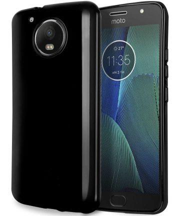 Motorola Moto G5s TPU Hoesje Zwart Hoesjes