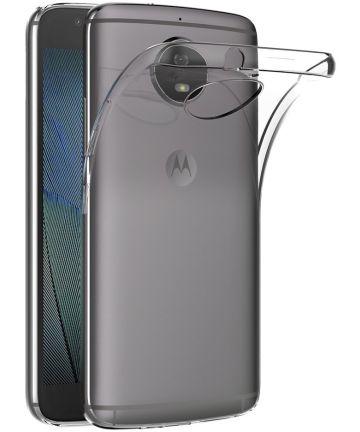 Motorola Moto G5s Hoesje Dun TPU Transparant Hoesjes
