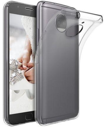 Motorola Moto G5s Plus Hoesje Dun TPU Transparant Hoesjes