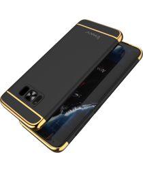 Ipaky Plated Back Cover voor uw Samsung Galaxy S8 Zwart