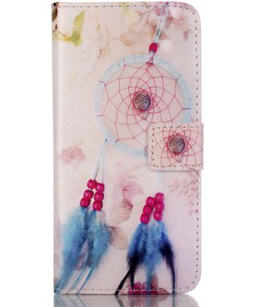 Apple iPhone 5 / 5S / SE Portemonnee Hoesje met Dromenvanger Print