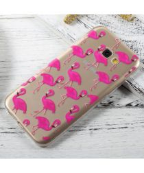 Samsung Galaxy A5 (2017) TPU Hoesje Flamingos