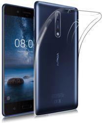 Nokia 8 Hoesje Dun TPU Transparant