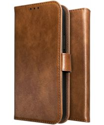 Rosso Element Apple iPhone X Hoesje Book Cover Bruin