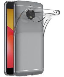 Origineel Motorola Moto E4 Plus Transparant TPU Hoesje