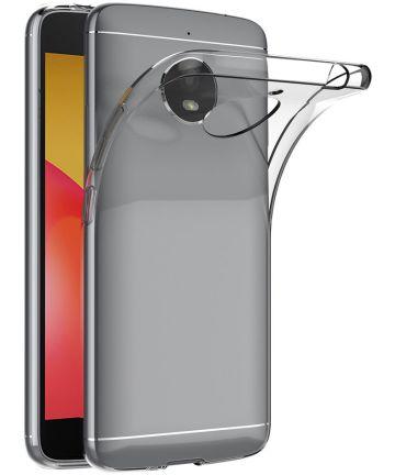 Origineel Motorola Moto E4 Plus Transparant TPU Hoesje Hoesjes