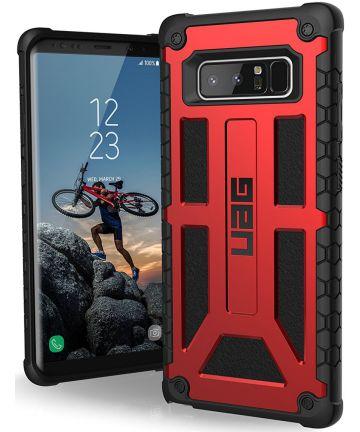 UAG Monarch Hoesje Samsung Galaxy Note 8 Crimson