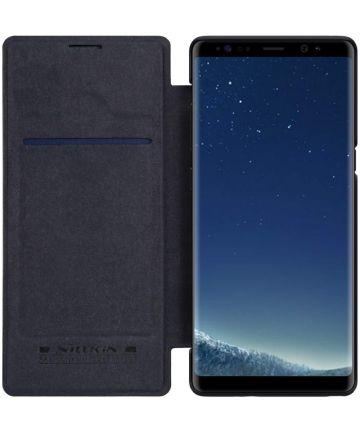 Nillkin Qin Book Case Samsung Galaxy Note 8 Zwart