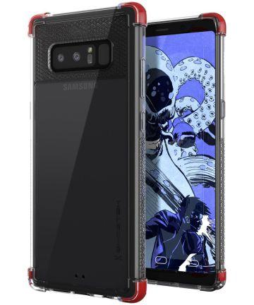 Ghostek Covert 2 Transparant Hoesje Samsung Galaxy Note 8 Rood