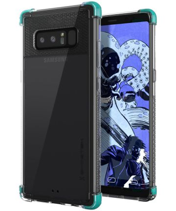 Ghostek Covert 2 Transparant Hoesje Samsung Galaxy Note 8 Blauw