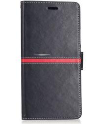 Xiaomi Mi Max 2 Stijlvol Portemonnee Hoesje Zwart
