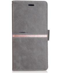 Xiaomi Mi Max 2 Stijlvol Portemonnee Hoesje Grijs