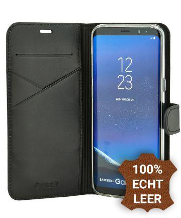 Valenta Booklet Premium Hoesje Leer Samsung Galaxy S8 Plus Zwart