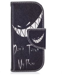 Nokia 3310 (2017) Portemonnee Hoesje met Print Don't Touch My Phone
