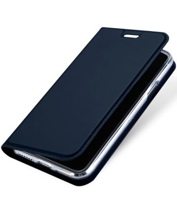 Dux Ducis Apple iPhone X Bookcase Hoesje Blauw Hoesjes