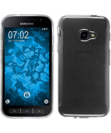 SamsungGalaxy Xcover 4/4s Transparant TPU Hoesje