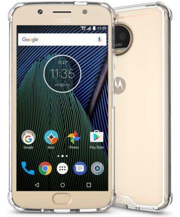 Motorola Moto G5S Plus Hybride TPU Hoesje Transparant