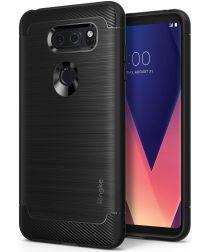 Ringke Onyx LG V30 / V30S Hoesje Zwart