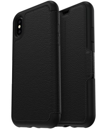 Otterbox Strada Folio Case iPhone X Shadow Black